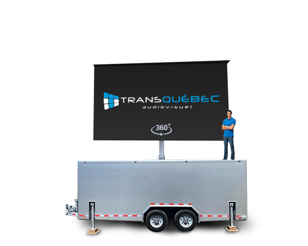 B50 Giant LED Screen Trailer