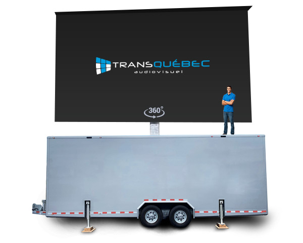 B60 Giant LED Screen Trailer