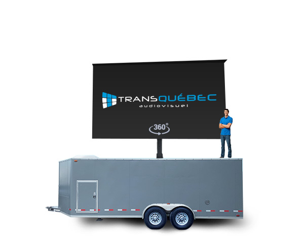 Q50 Giant LED Screen Trailer